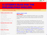 A Citizen's Blog... Philadelphia Phillies