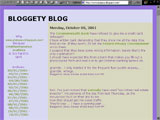 Bloggety Blog