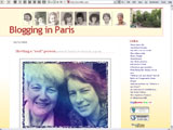 Blogging in Paris