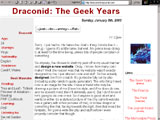 Draconid:  The Geek Years
