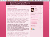 Golden Lucy's Spiral Journal