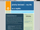 Jeremy Brendan--My Life as a Reptile