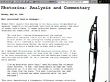 Rhetorica: Commentary and Analysis