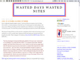 Wasted Days Wasted Nites